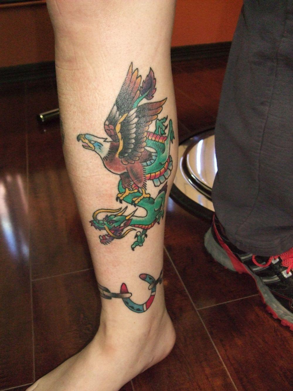 Cw18 true grit tattoo parlor for Tenth street tattoo
