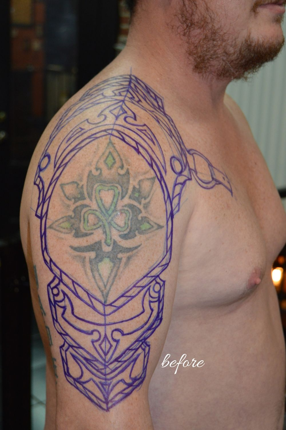 Cover Up Tattoos - True Grit Tattoo Parlor